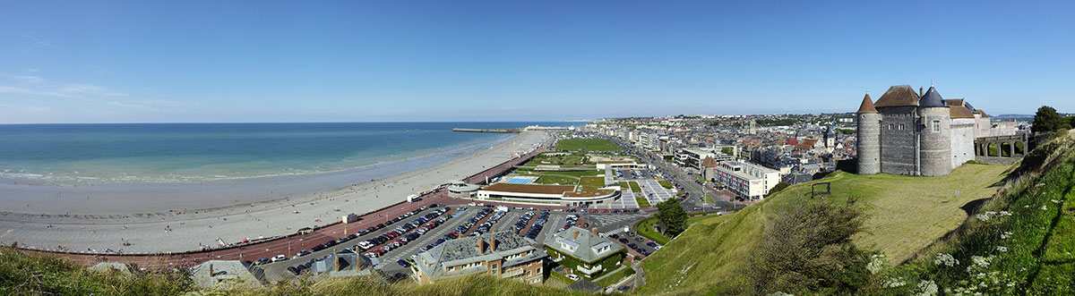 panoramique-Dieppe-gites-normandie